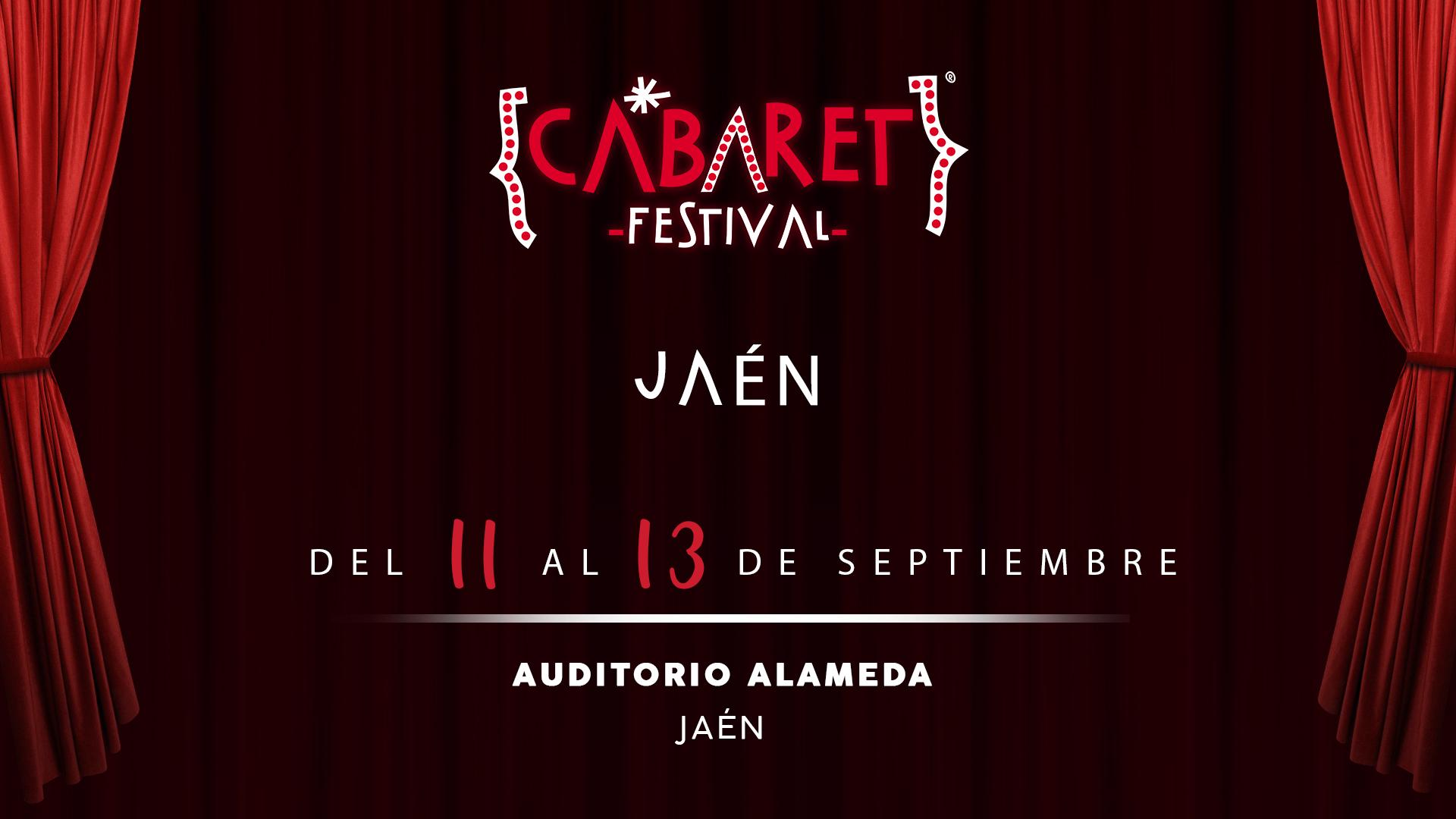 El ciclo de música Cabaret Festival aterriza en Jaén este verano