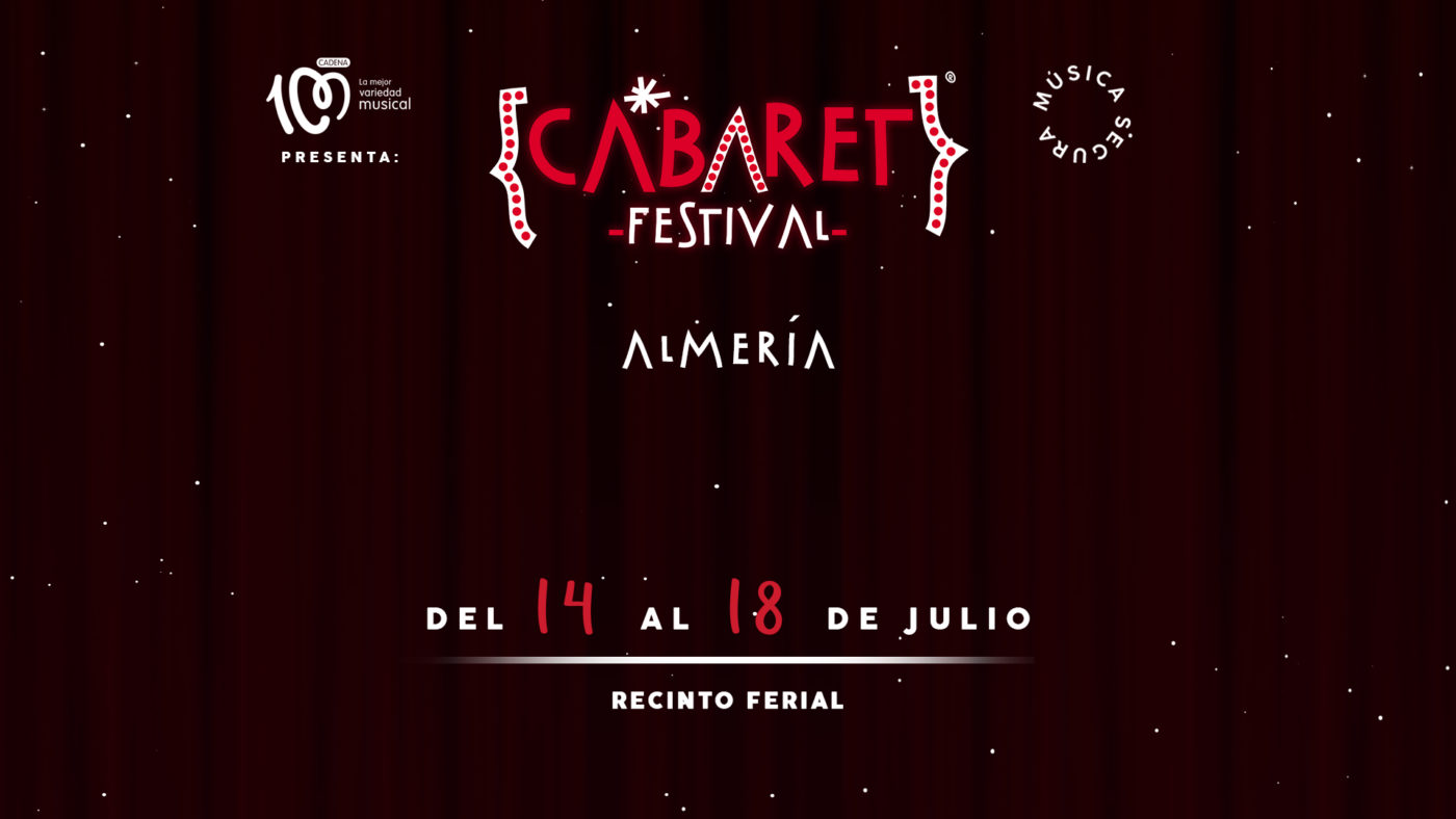 El Recinto Ferial de Almería acogerá los espectáculos de Cabaret Festival